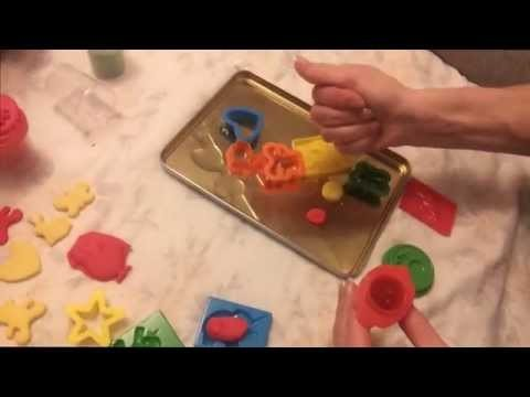 KIDs Dough DIY  Playset 22 items Modeling Magical Molding HOW TO MAKE Play Dough Like PLAY DOH
