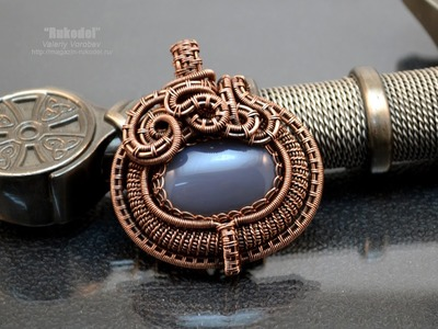 Handmade. Техника Wire Wrapping для начинающих.