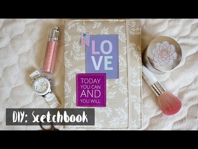 DIY: Stetchbook. Блокнот своими руками. Ничего сложного