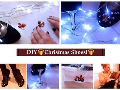 DIY ❄Christmas Shoes!!!❄.Hillamaria89