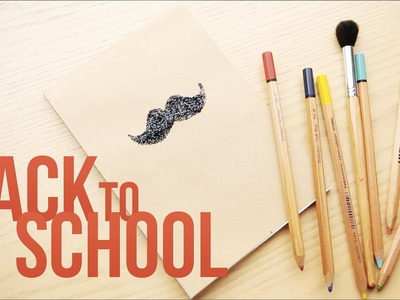 Back to school: блокнот - хипстер =)
