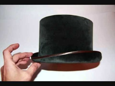 Top Hat , How to make top hat , как сделать шляпу цилиндр , Top Hat