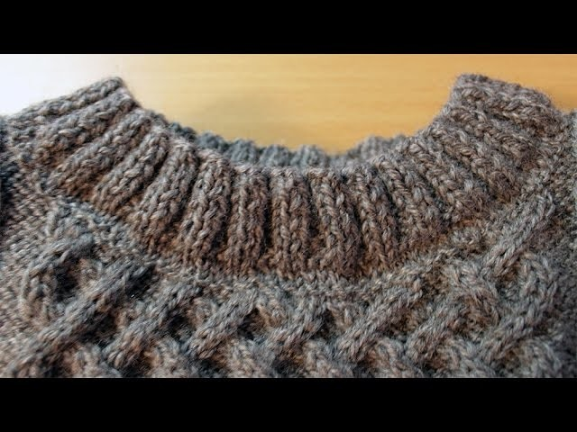 How to sew a seam in knitting