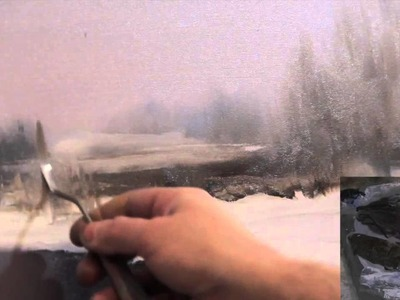 "FREE! Full video ""Winter Landscape"" painter Igor Sakharov"