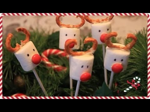 DIY Олени маршмеллоу попс  (Christmas Deer Marshmallow Pops) - YUMMY ADVENTURES