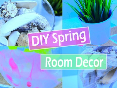DIY Spring room decor!\ Украшение комнаты к весне \ 2016