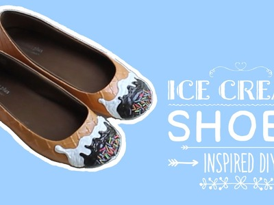 Балетки - Мороженое DIY | Ice Cream Shoes DIY | Masherisha
