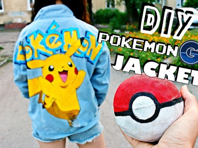 DIY Pokemon GO Jacket! + summer outfit