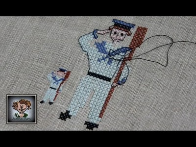 Вышиваем от БАЛДЫ  с CRAZY LOOP.  Видео-зарисовки про BACKSTITCH. Вышивка крестиком