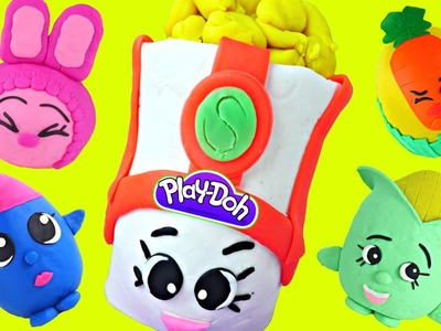 BEST of JUMBO Surprise Egg Shopkins! Play Doh Giant Toy Mystery Eggs Episodes!