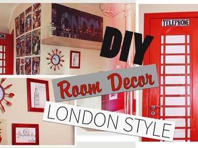 DIY:Room Decor London Style.Декор комнаты |Fosssaaa