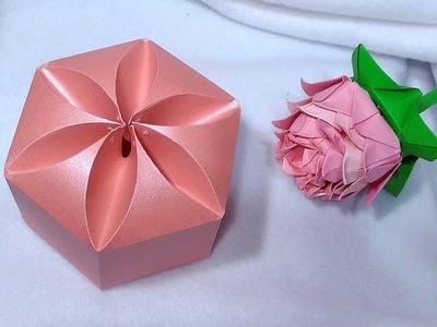 Amazing DIY gift box. NO templates! Ideas for Christmas gifts!