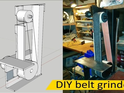 Сheap DIY belt grinder