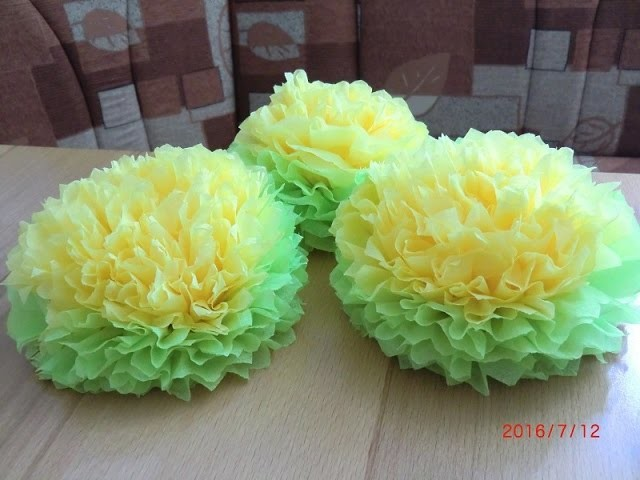 Цветы из салфеток (Schone Blumen aus Servietten), My Crafts and DIY Projects