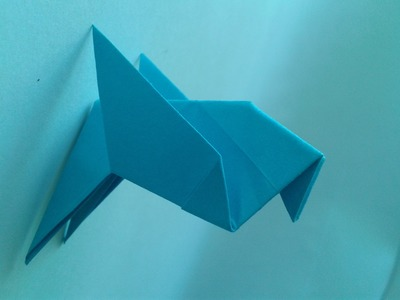How to make an Easy Origami Bird оригами птица