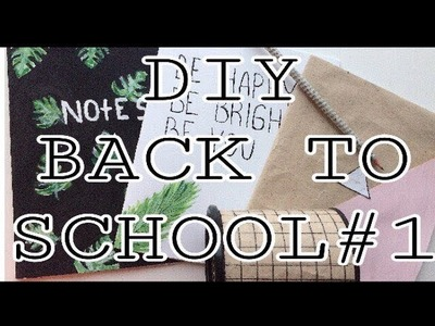 DIY✔BACK TO SCHOOL 2017 || СНОВА В ШКОЛУ  ♥