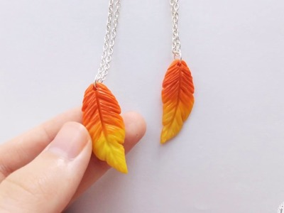DIY | Rakan's  Feathers From Polymer Clay