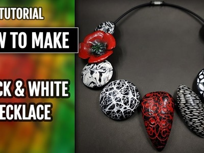 How to Finish the Black and White Beads and the Necklace!