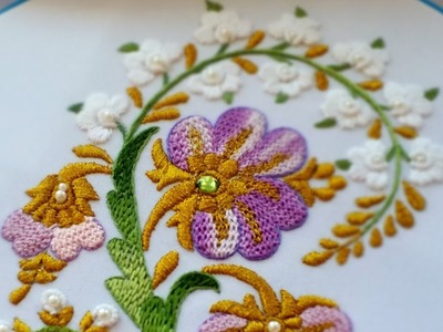EMBROIDERY : WEAVING NEEDLE  \ ВЫШИВКА : ПЛЕТЕНИЕ ИГЛОЙ