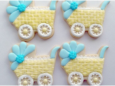 Baby Carriage cookie. My little bakery.