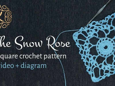Pattern SnowRose from Kolt Fashion House