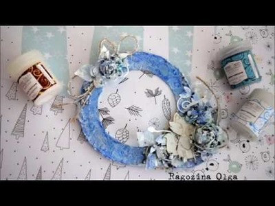 Tutorial Mixed Media canvas photo frame by Ragozina Olga