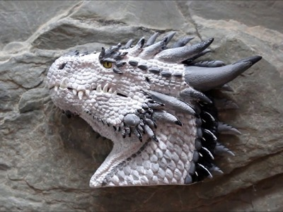 Handmade polymer clay Dragon Shabalin Design