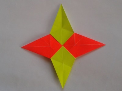 Origami ninja star weapon