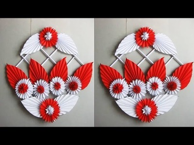 DIY. Simple Home Decor. Wall, Door Decoration. Цветы из бумаги. Paper Craft Ideas # 17