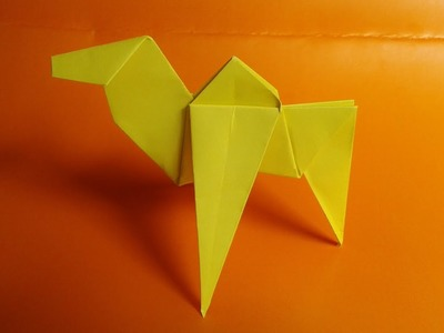 How to make paper camel origami