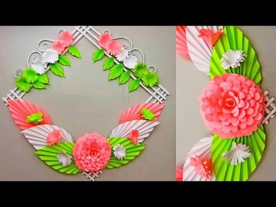 DIY. Simple Home Decor 28. Wall, Door Decoration. Hanging Flower. Paper Craft Ideas 30
