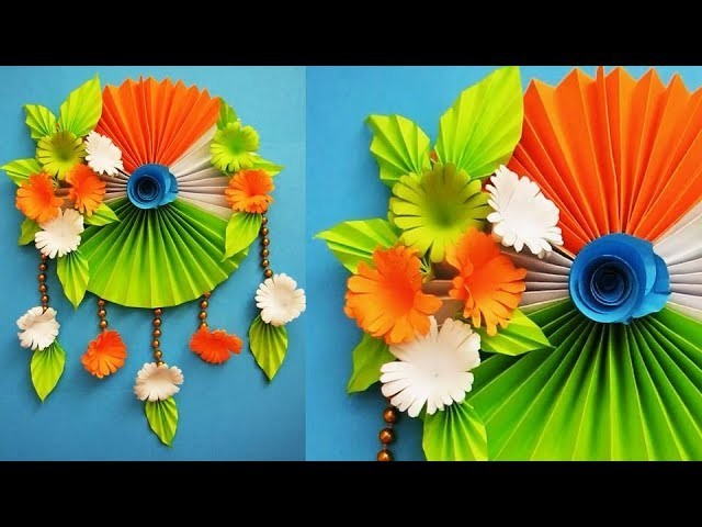 DIY. Simple Home Decor. Wall, Door Decoration. Hanging Flower 80. цветы из бумаги. Paper Craft Ideas