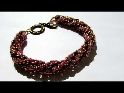 Жгут из бисера. Bracelet ! How to make bracelets ! Bracelet Tutorial