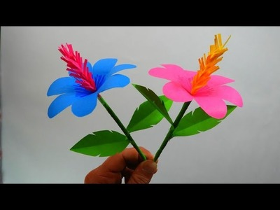 Paper roses DIY Origami Flowers Easy to make Crafts