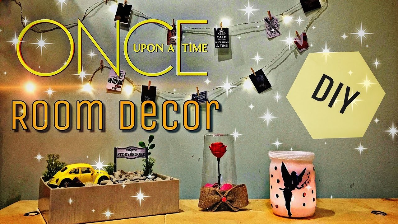 Diy Once Upon A Time Room Decor Odnazhdy V Skazke Dekor Komnaty