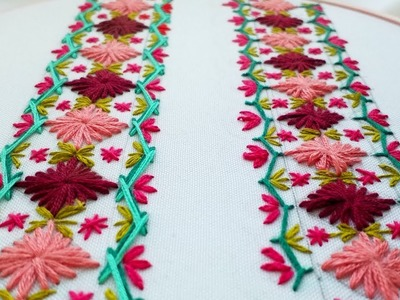 Hand Embroidery |Decorative stitches | Декоративные стежки | Puntadas Decorativas