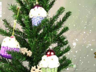 Пирожное на елку.Cake on the Christmas tree. ХоббиМаркет