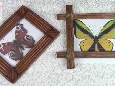2 варианта фоторамок . 2 photo frame options DIY. ХоббиМаркет