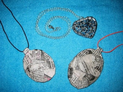 DIY Основа для украшений. Мастер-класс \ Basis for jewelry \ Paper crafts \ Jewelry papier-mache