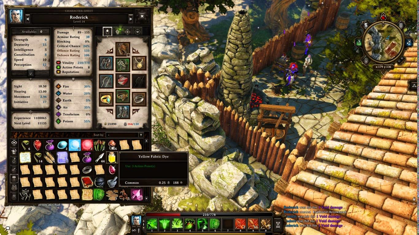 Divinity: Original Sin - Crafting Arrows. Крафтинг стрел