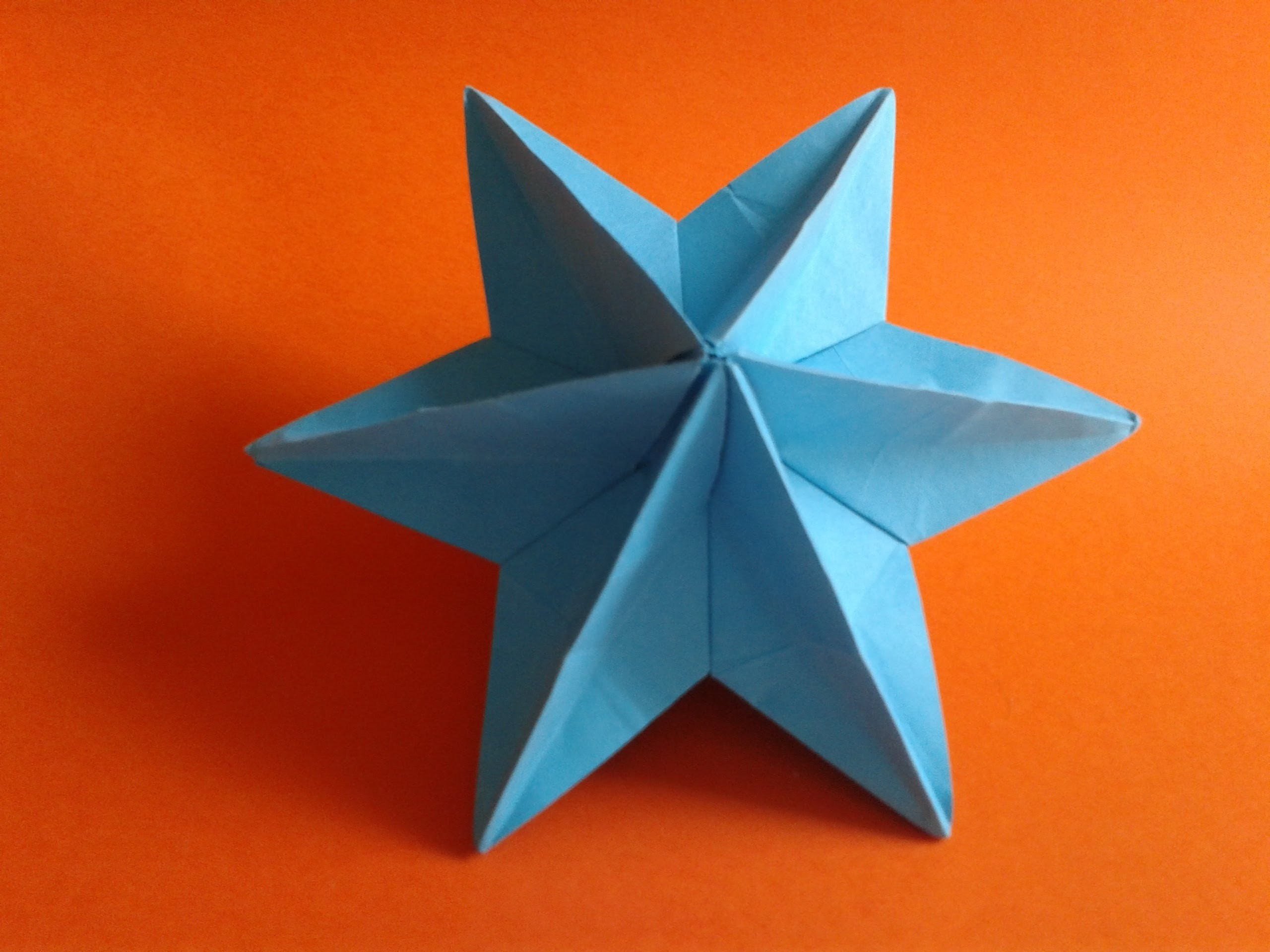 How to make a origami  star