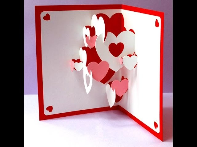Beautiful Pop up card. Открытка объемная. Easter. Ideas for Woman's day and Easter