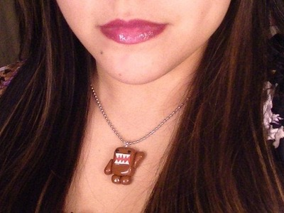 Polymer Clay Domo Kun Necklace