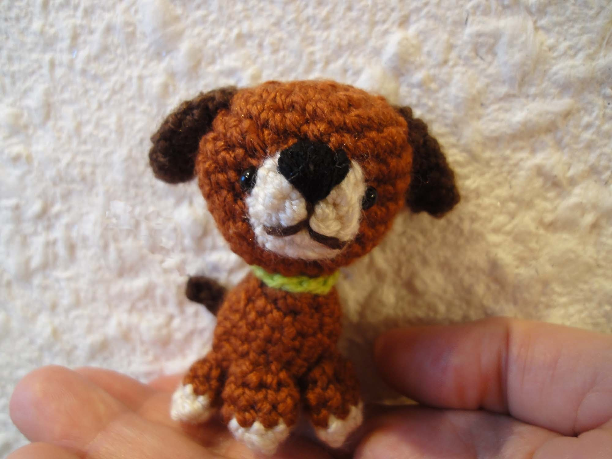 ЩЕНОК  The little dog Crochet