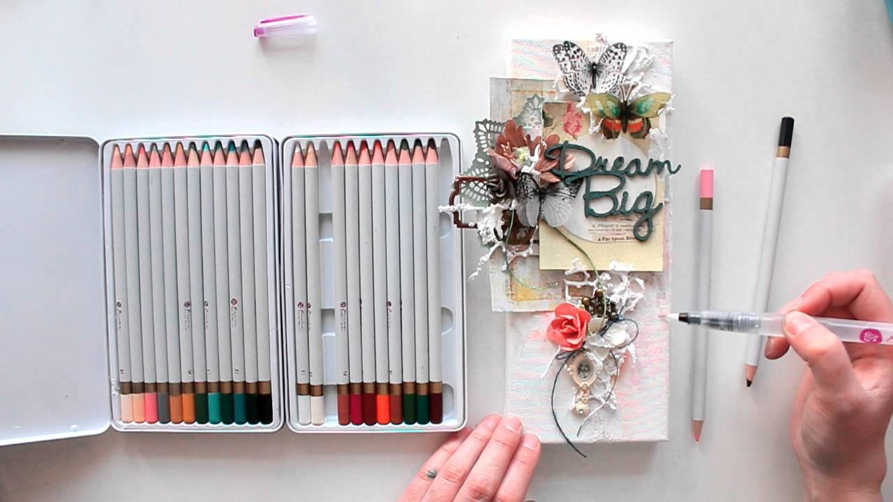 Finnabair CT - canvas Dream Big tutorial