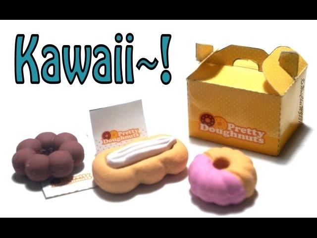 Kutsuwa - DIY Doughnut Eraser Making Kit