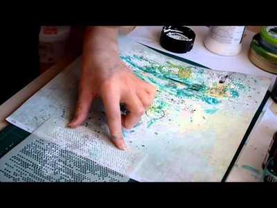 Scrapbooking project