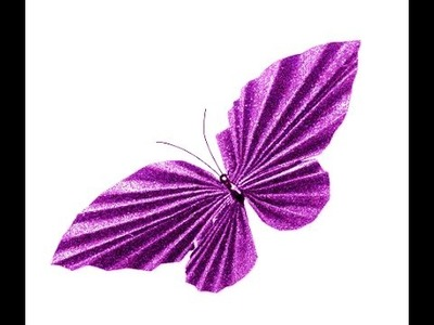 Awesome Paper Butterfly. Easy to do. Room decoration. Easter ideas