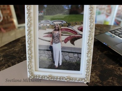 How to make your Beaded Picture Frame