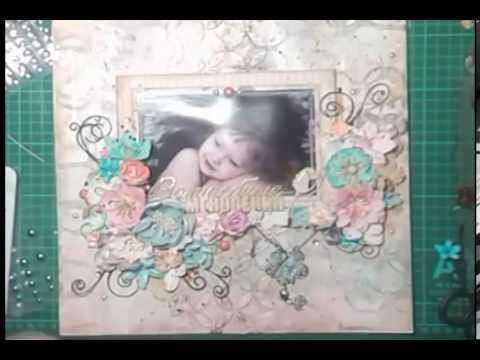 "Scrapbook Layout Tutoria ""Magical Moment"" by Svetlana Lisitsyna"